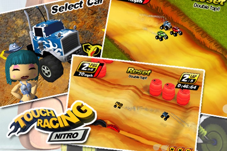Touch Racing screenshot-3