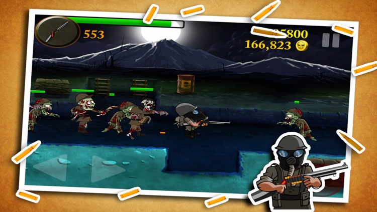Zombie Toxic Pro - Top Best Free War Game screenshot-1