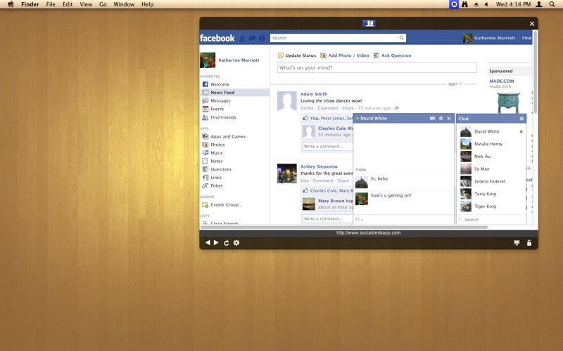 Social for Facebook Screenshot