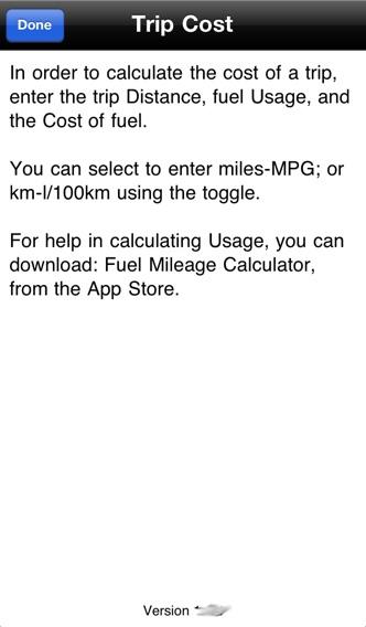 Trip Cost Calculator | FREE iPhone & iPad app market