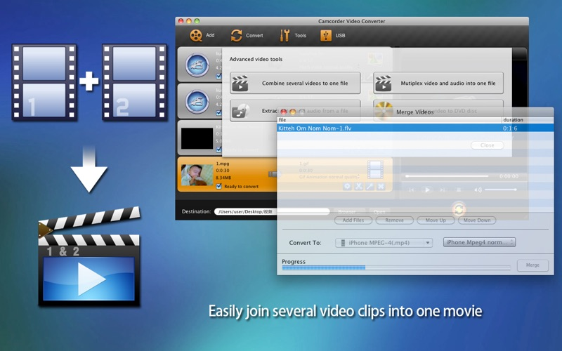 Camcorder Video Converter Screenshot