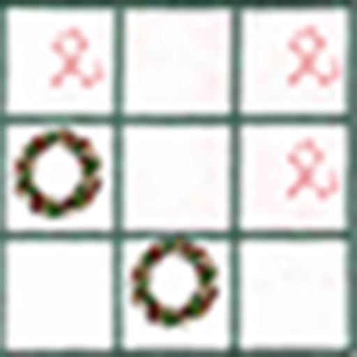 Tic Tac Toe Christmas icon