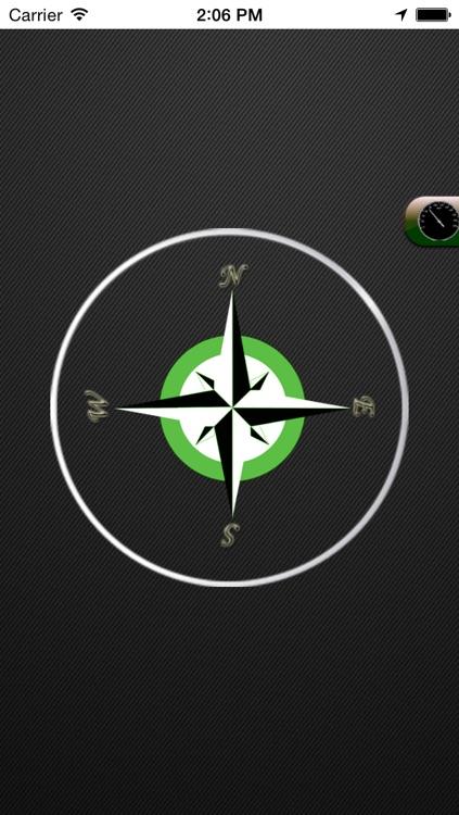 GPS Speedometer and Compass