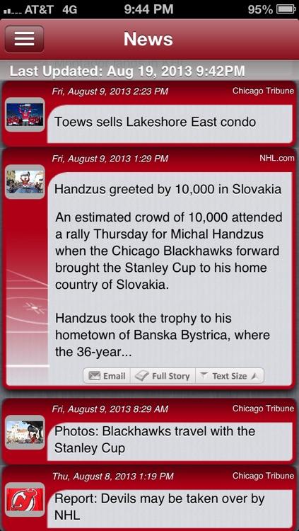 Chicago Hockey Live screenshot-3