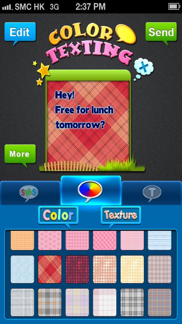 Farben & Schriften – Individuelle Gestaltung deiner Nachrichten GratisScreenshot von 1