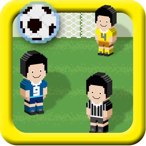 A Soccer Ball Pixel Bit Sports Match Game - Free Version