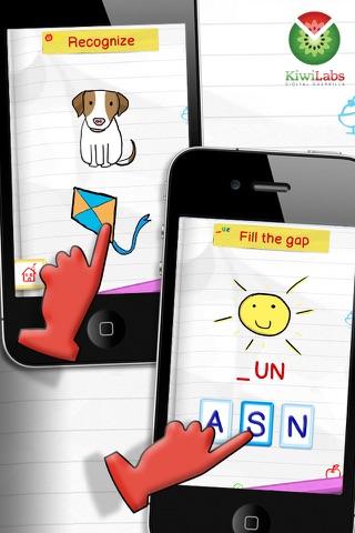 Screenshot of Impara l'Inglese Giocando - Alfabeto Parlante Free3