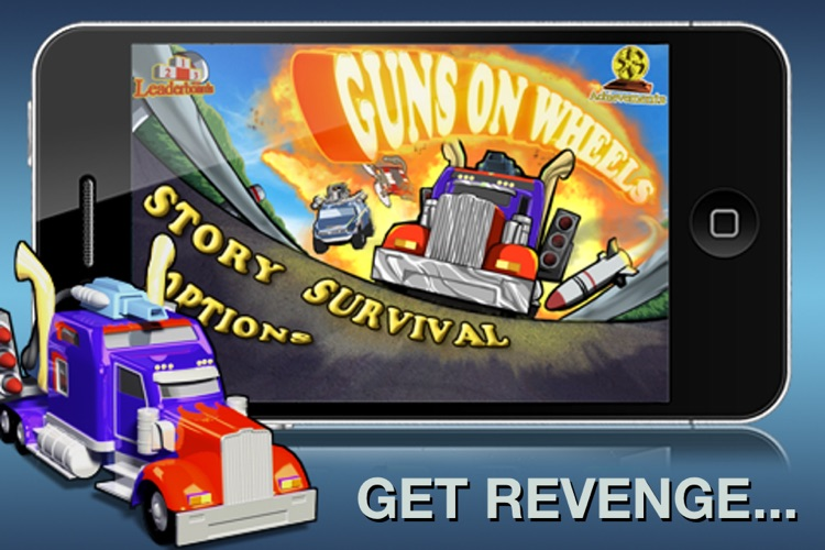 Guns on Wheels screenshot-0