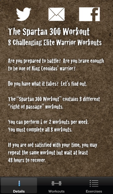 The Spartan 300 Workout