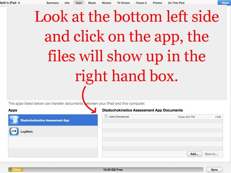 Diadochokinetics Assessment App screenshot-3