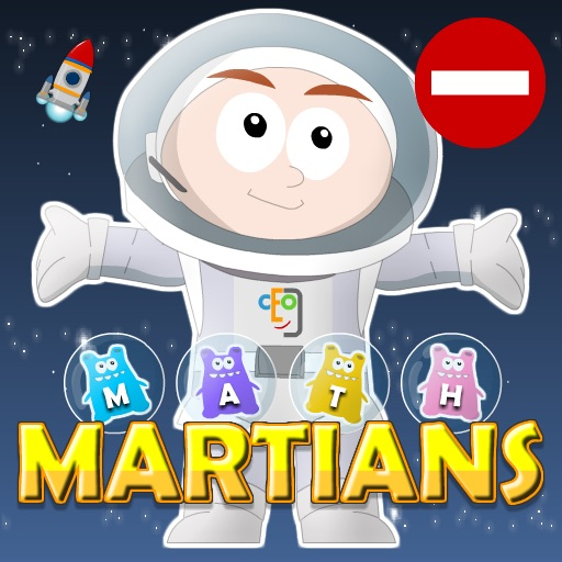Math Martians: Subtraction