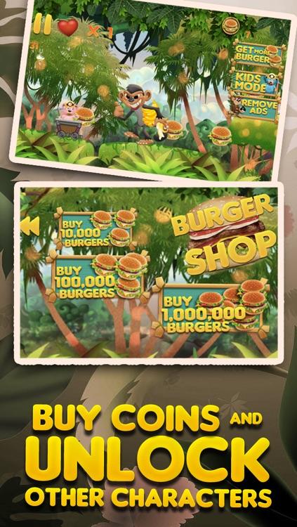 Burger-Crazy Bears Among Us - Hunger Battle of the Super Evil Sky Monkeys FREE screenshot-4