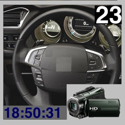 Car Blackbox - HD Video Record and Playback with Speed & Timer
