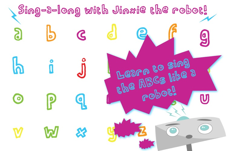 Robot ABCs with Jinxie