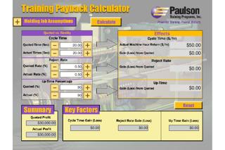 Paulson Training Payback Calculator
