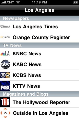 Los Angeles Local News screenshot1