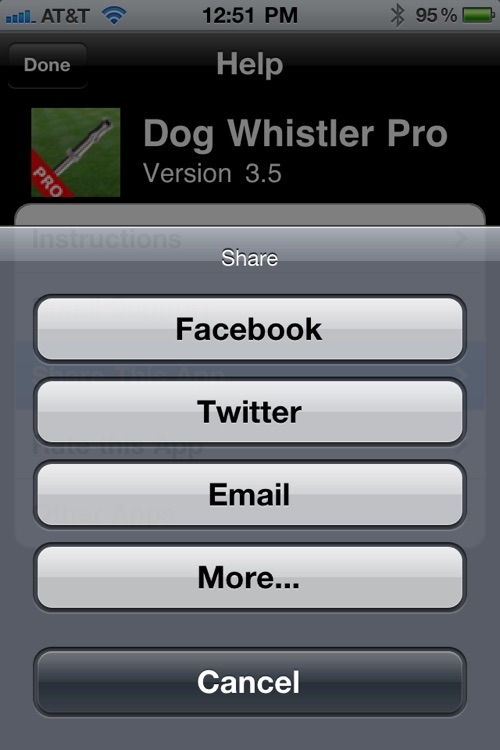 Dog Whistler Pro - Your Dog Whistle