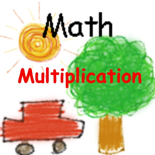 kid math race Multiplication icon