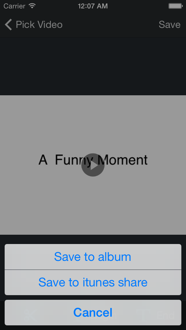 Video Titles - Add Titles & text to Video & video editor screenshot four