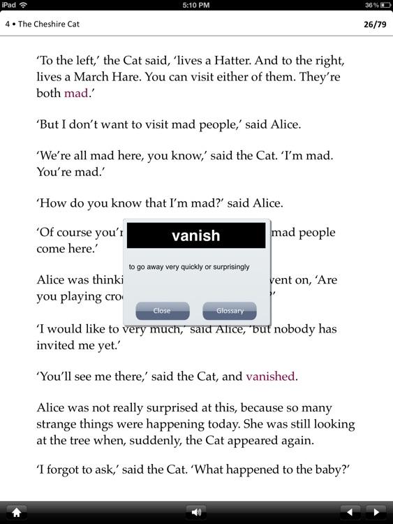 Alice's Adventures in Wonderland: Oxford Bookworms Stage 2 Reader (for iPad)