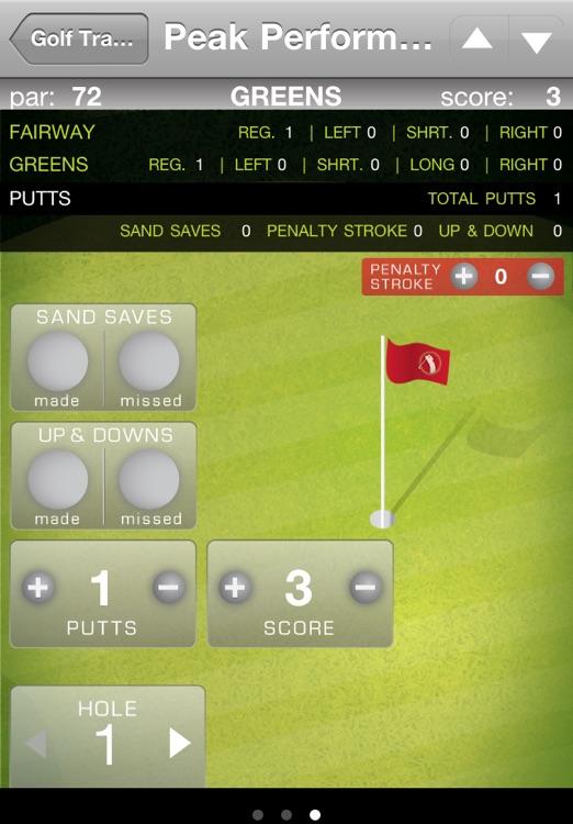 Golf Stats Tracker screenshot-3