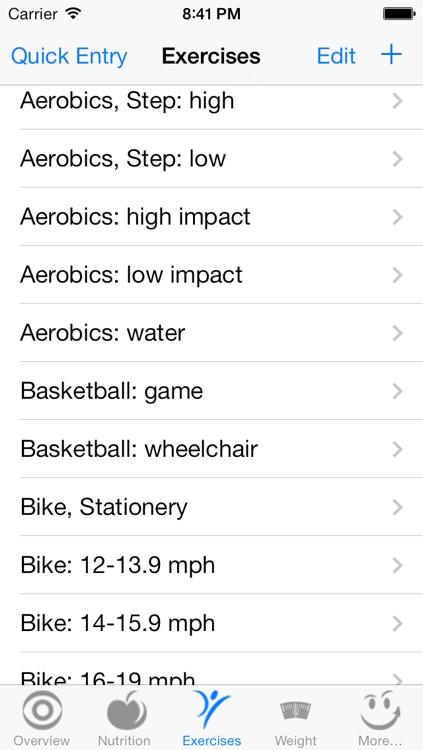 CalorieSmart Calorie Counter, Nutrition Tracker, Diet and Fitness Tracker screenshot-4