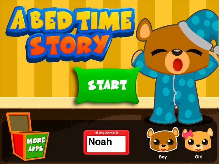 Bedtime Stories - Short Touch Book for Kids with Rockabye, Lullaby & Soothing Sounds