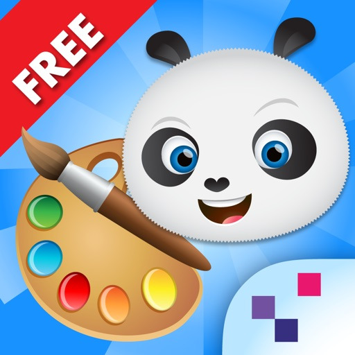 Joypa Colors Free - Interactive Coloring Game for Kids icon