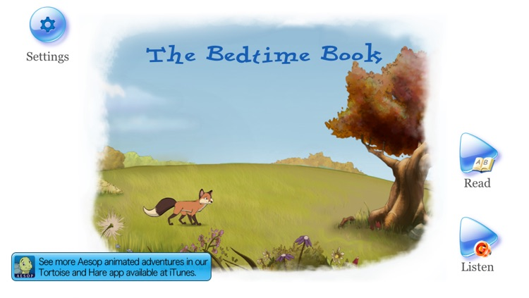 Bedtime Story: an animated Aesop Children's Book for helping children to sleep screenshot-4