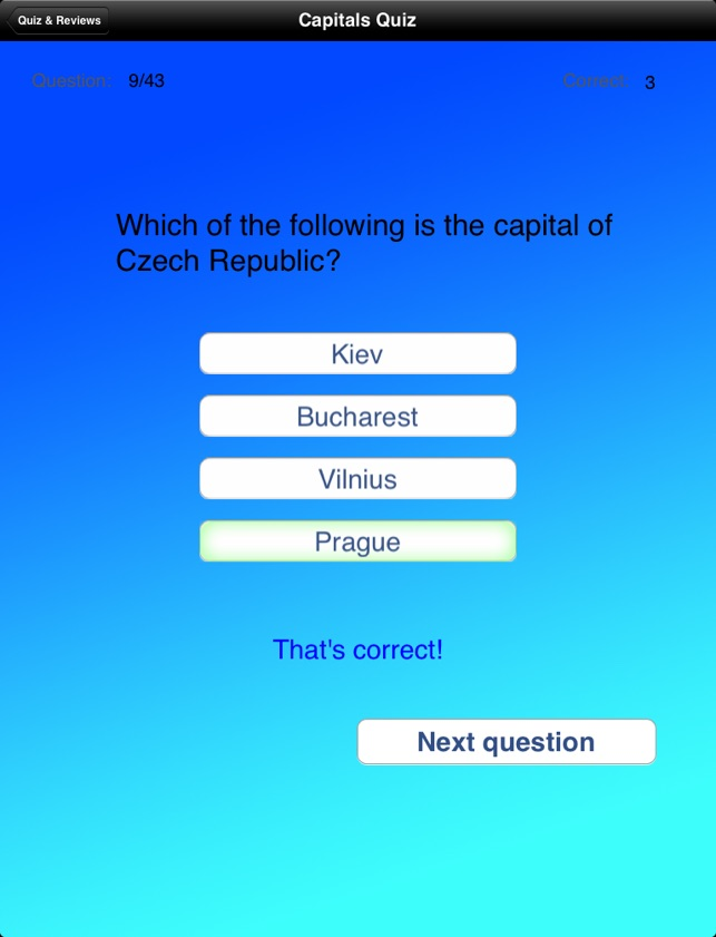 Learn Europe Countries and Capitals on