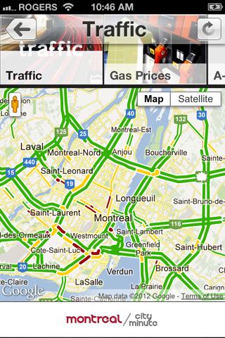Montréal CityMinute screenshot 4