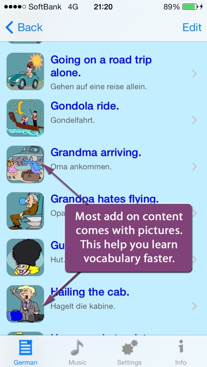German - Talking English to German Translator and Phrasebook screenshot-2