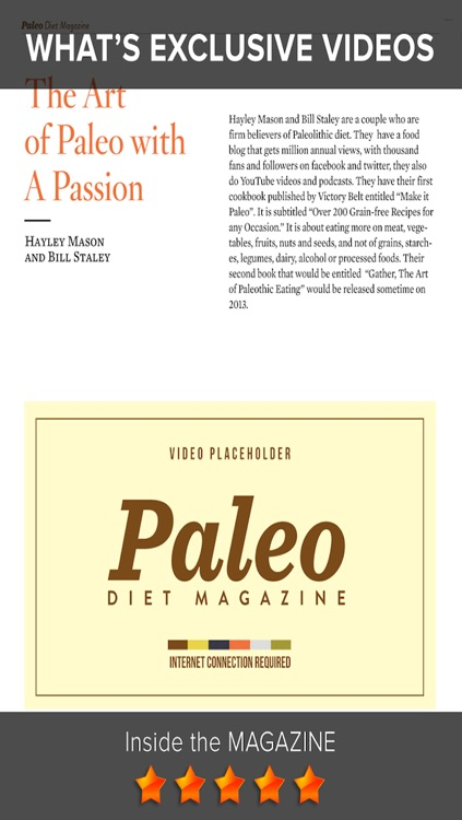Paleo Diet Magazine - Lifestyle, Fitness, and Nutrition Tips for Optimal Paleolithic Living screenshot-3