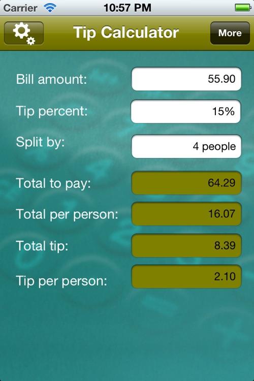 Tip Calculator Pro by Vicinno