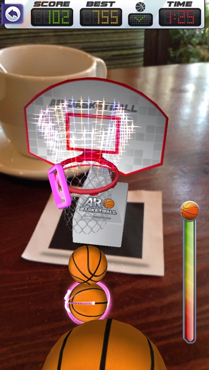 ARBasketball - Augmented Reality Basketball Game
