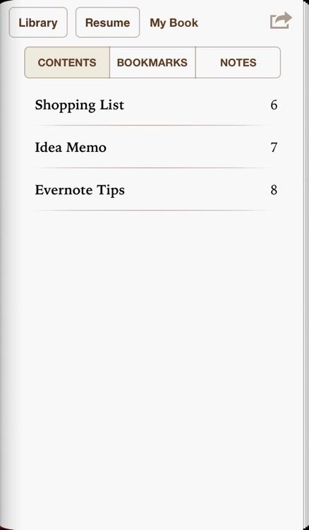 EverEPUB for Evernote screenshot-4