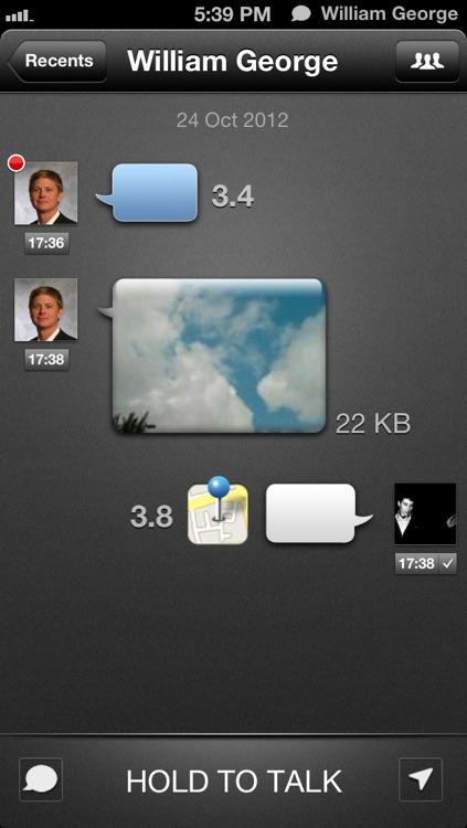 TalkBox Voice Messenger screenshot-3