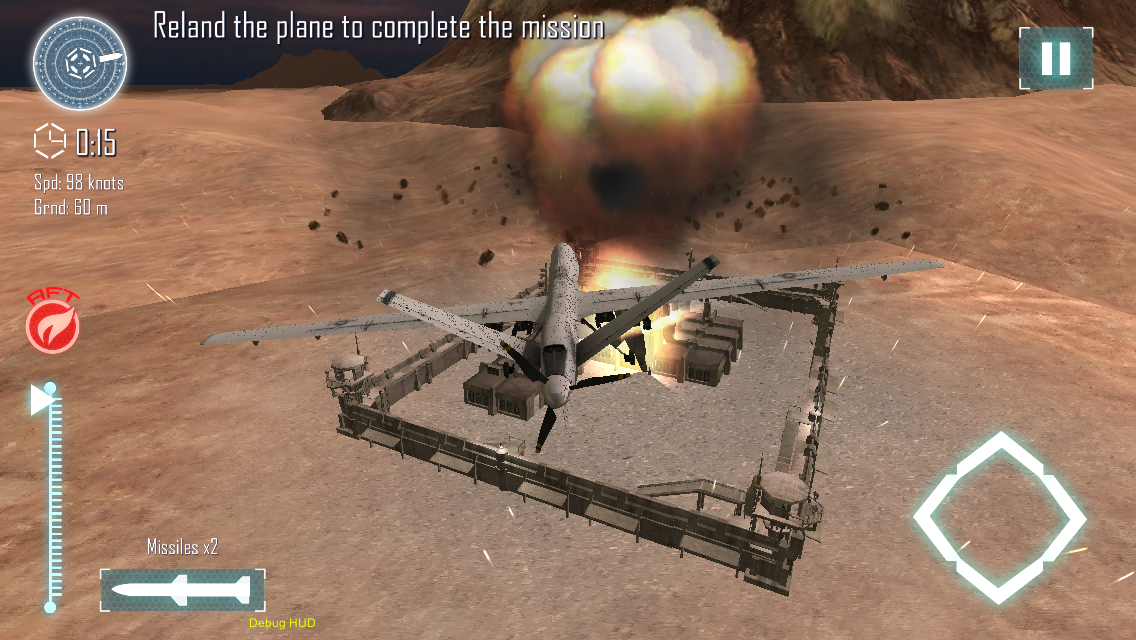 Drone Strike : Zombie Warfare 3D Sim Pro Screenshot