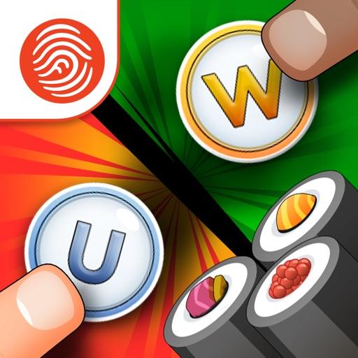 Sushi Scramble: Multiplayer Word Game - A Fingerprint Network App