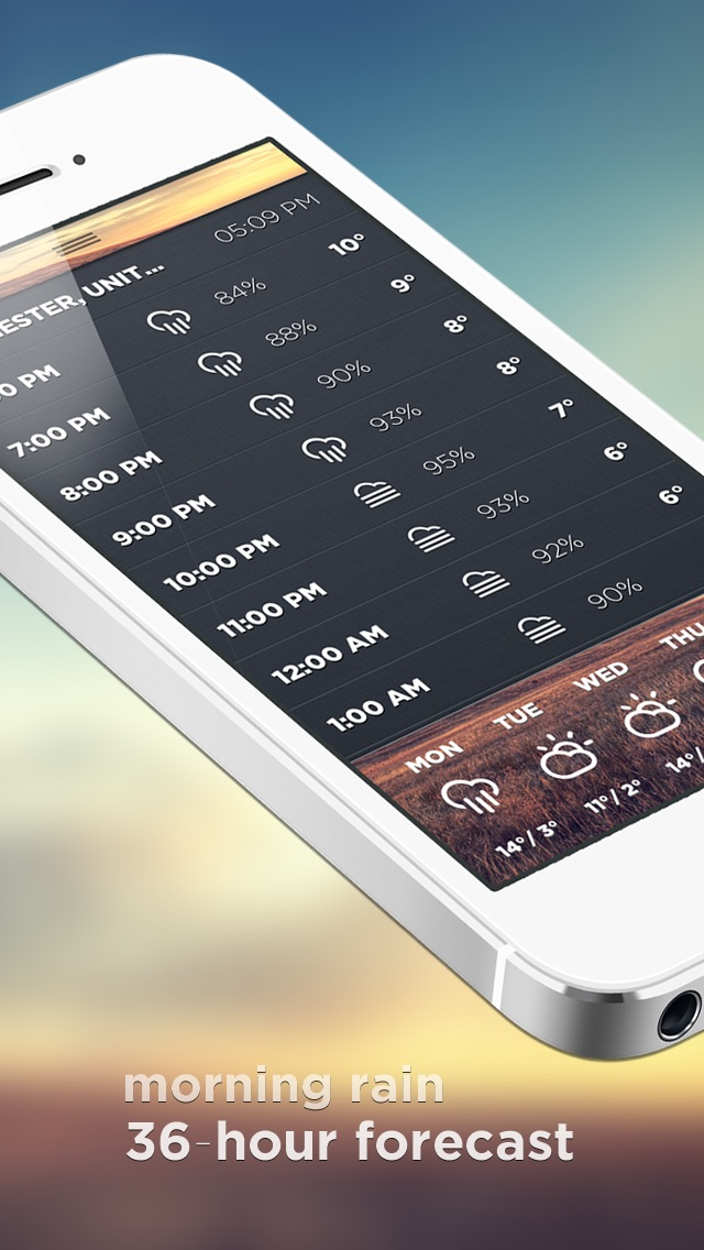 Morning Rain screenshot1