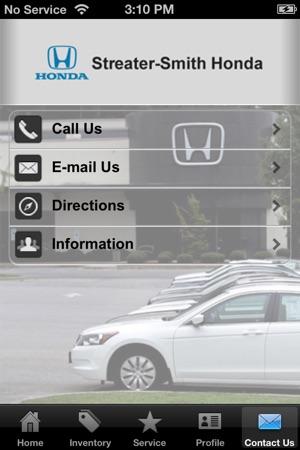 Streater Smith Honda >> Streater Smith Honda On The App Store