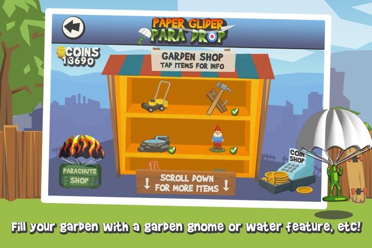 Paper Glider Para Drop screenshot-4