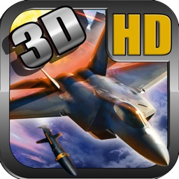 F-22 deadly 3D globo attack : modern super sonic aircraft flyer