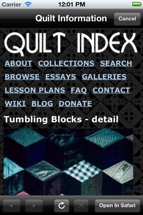 Quilt Index screenshot-1