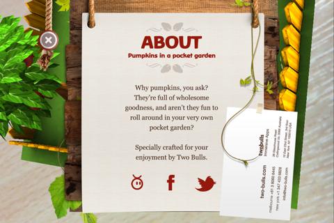 Pumpkins in a Pocket Garden screenshot 3