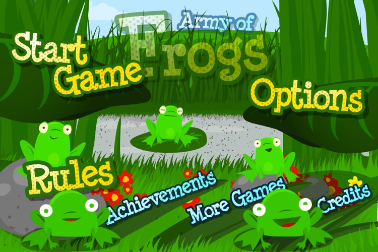 Army of Frogs HD screenshot-4