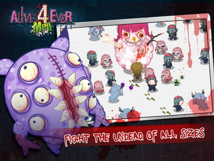 Alive4ever mini: Zombie Party for iPad screenshot-3
