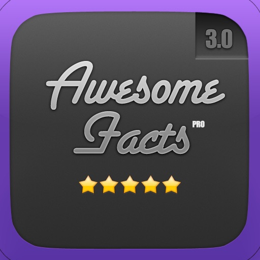 Awesome Facts Pro 3 - The #1 Facts App For the iPhone