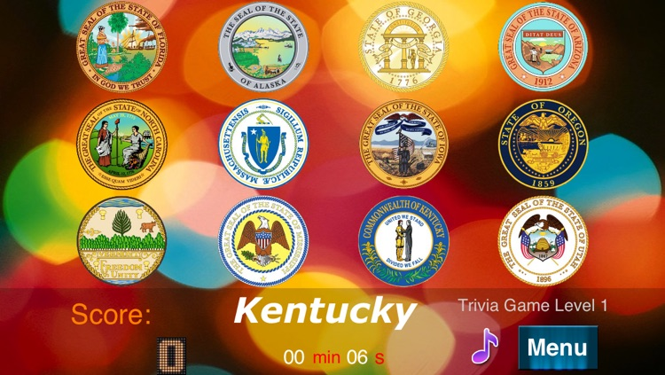 Master USA State Seals screenshot-2