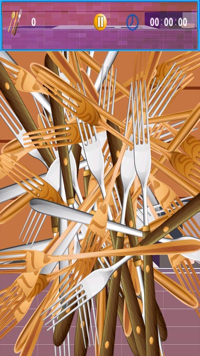 Screenshot #5 for Crazy Kitchen Helper - An Awesome Pick up Sticks Mania